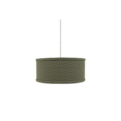 Tech Lighting Mulberry 2 Light Monopoint Mini Drum Pendant