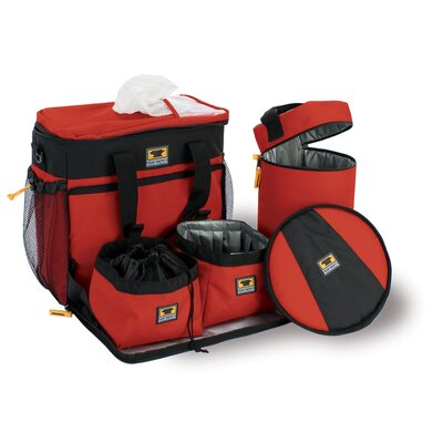 Pet K-9 Cube Dog Travel Bag in Heritage Red