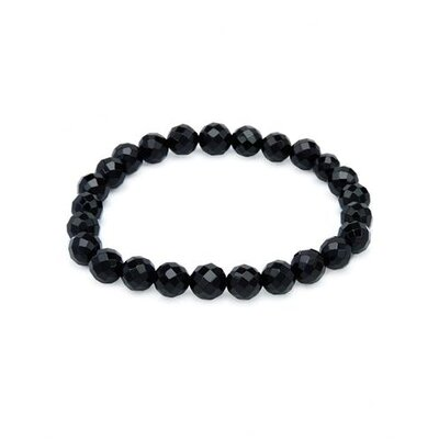 Sigal Checkerboard Onyx Beaded Bracelet