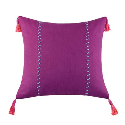 Mayan Geo Cotton Square Pillow