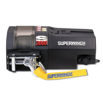 Superwinch Performance 12 Volt Trailer Winch with 3000lb Capacity