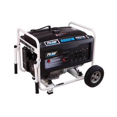 Gas Peak 6,000 Watt Generator - PG6000