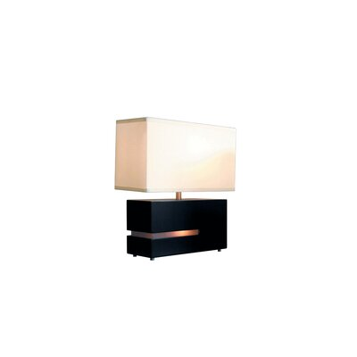 Nova Zen Reclining Table Lamp in Dark Brown