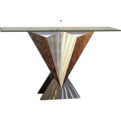 Wedge Console Table
