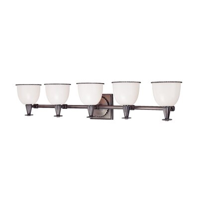 Hudson Valley Lighting Guilford 5 Light Bath Vanity Light