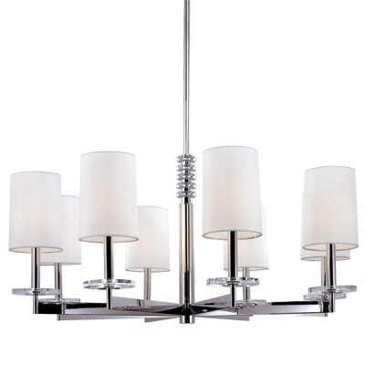 Hudson Valley Lighting Chelsea 8 Light Chandelier