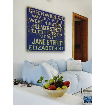 Jen Lee Art Jane Street Canvas Art