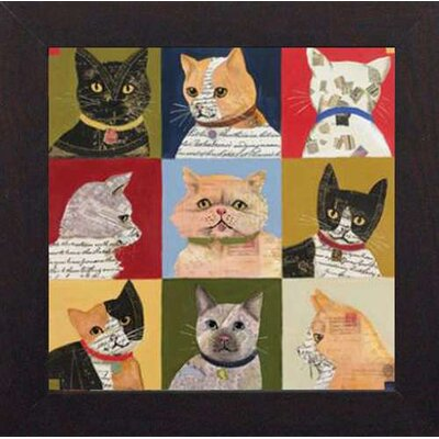 North American Art Nine Lives Wall Art