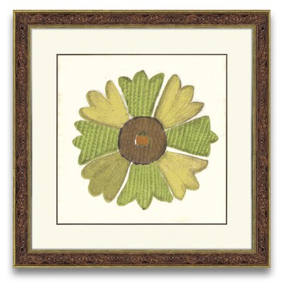 Epic Art Natural Impressions Flower I Wall Art