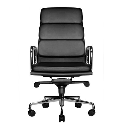 Wobi Office Clyde High-Back Leather Chair