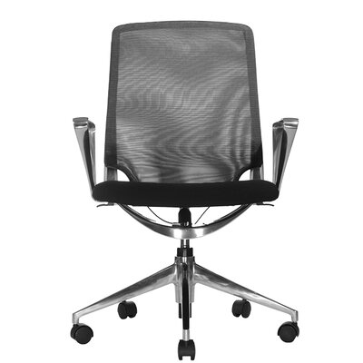Wobi Office Marco Low-Back Mesh Chair with Adjustable Armrest