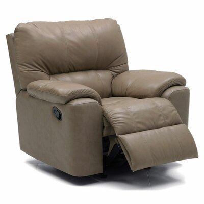 Palliser Furniture Yale 3 Seat Leather Sleeper Sofa and Recliner Set