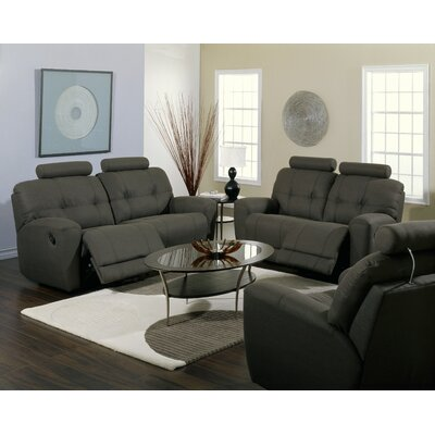 Living room sets wayfair buy sofa and loveseat sets for Fabric reclining living room sets