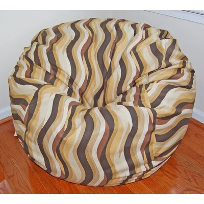 Ahh! Products Wavelength Cotton Bean Bag Chair