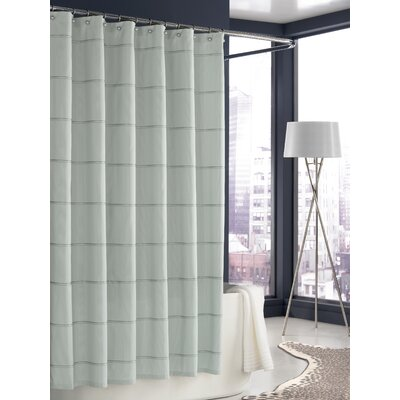 Trump Home Mar-A-Lago Stripe Shower Curtain in Morning Mist