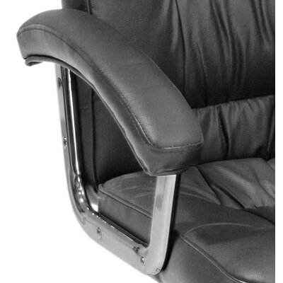 Regency Carrera High-Back Leather with Metal Base Swivel Office Chair