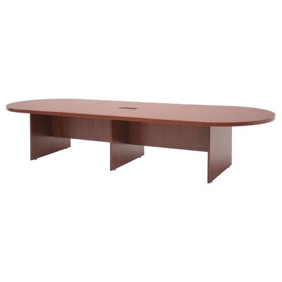 Regency Legacy Modular Cherry Laminate Conference Table with Center Grommets