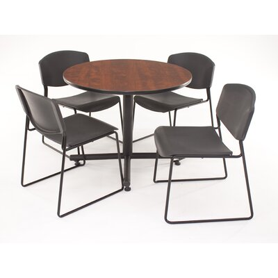 Regency Hospitality Four Zeng Chairs with Round Table
