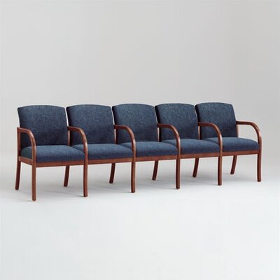 Lesro Weston Five Seats with Center Arms
