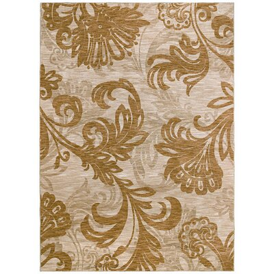 Tommy Bahama Rugs Home Nylon Bahama Beige Bloom Rug