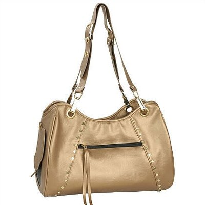 Classic Genevieve Pet Carrier in Gold