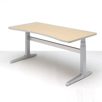 Workrite Ergonomics Sierra Rectangular Concave Front Workcenter