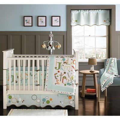 MiGi Alphabet 4 Piece Crib Bedding Set