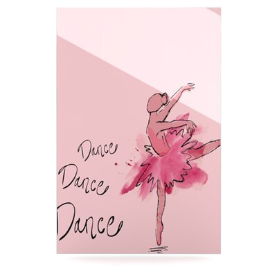 KESS InHouse Ballerina Floating Art Panel