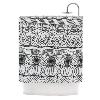 KESS InHouse Blanket of Confusion Polyester Shower Curtain