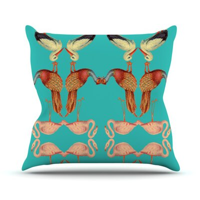 KESS InHouse Glu Glu Throw Pillow