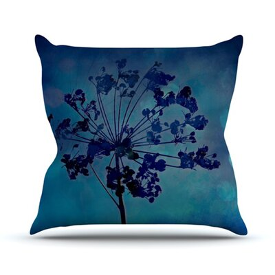 KESS InHouse Grapesiscle Throw Pillow