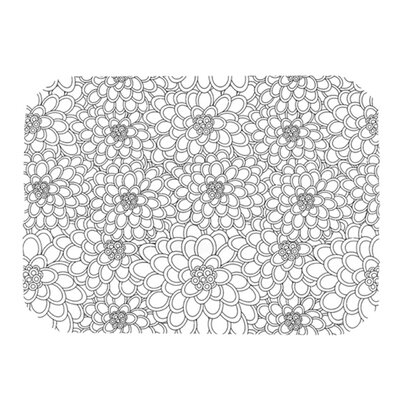KESS InHouse Flowers Placemat