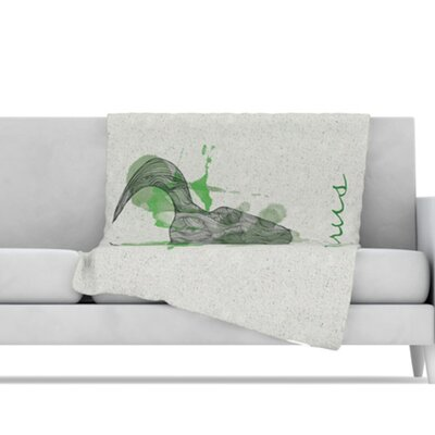 KESS InHouse Taurus Microfiber Fleece Throw Blanket