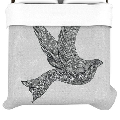KESS InHouse Dove Duvet Collection