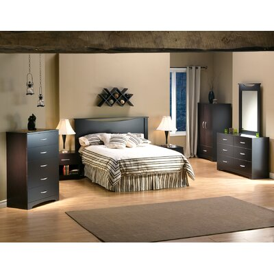 South Shore Back Bay Headboard Bedroom Collection