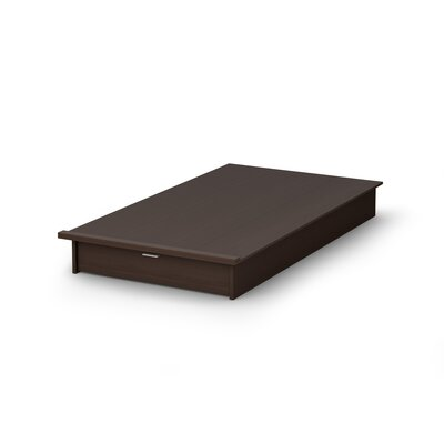 South Shore Platform Bed with Drawer