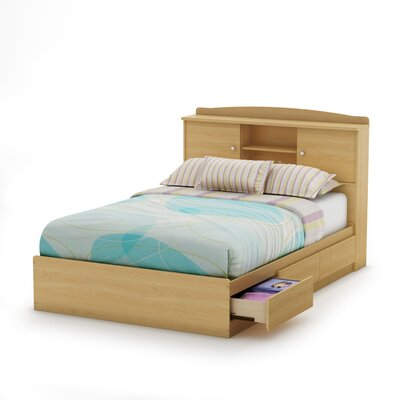 South Shore Clever Room Bookcase Headboard