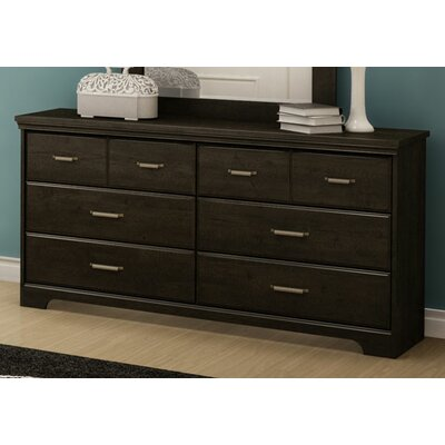 Versa 5 Drawer Double Dresser