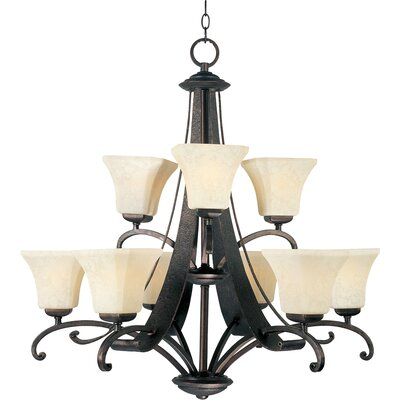 Maxim Lighting Oak Harbor 9 Light Chandelier