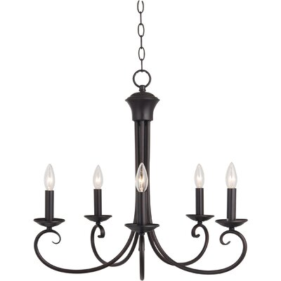 Maxim Lighting Loft 5 Light Candle Chandelier
