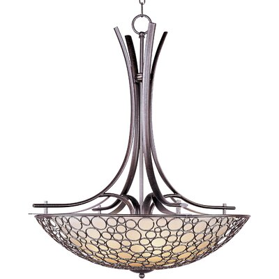 Maxim Lighting Meridian 4 Light Bowl Inverted Pendant