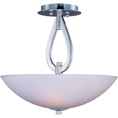 Maxim Lighting Elan 3 Light Semi Flush Mount