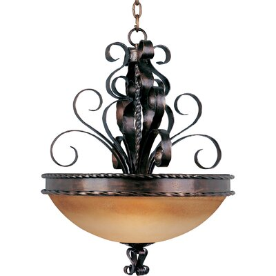 Maxim Lighting Aspen 3 Light Invert Bowl Inverted Pendant