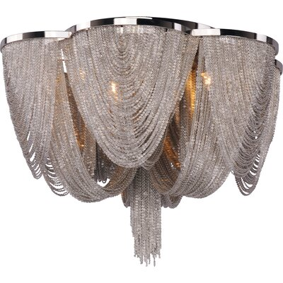 Maxim Lighting Chantilly 6 Light Flush Mount
