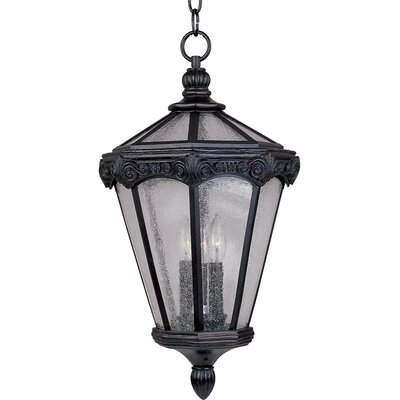 Maxim Lighting Essex VX 3 Light Outdoor Hanging Lantern