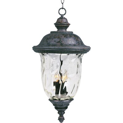 Maxim Lighting Carriage House VX 25&quot; Outdoor Hanging Lantern