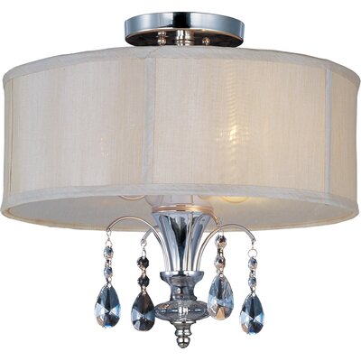 Montgomery 3 Light Semi Flush Mount