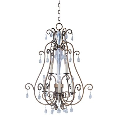 Hampton 6 Light Foyer Pendant
