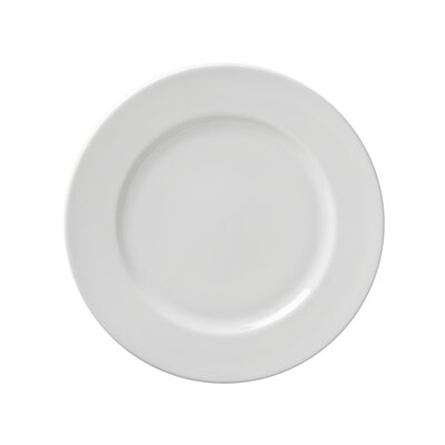 "Ten Strawberry Street Classic White 9"" Breakfast Plate"