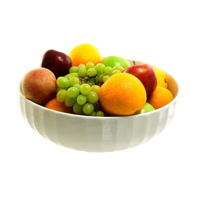 "Ten Strawberry Street 14"" Faceted Fruit Bowl"